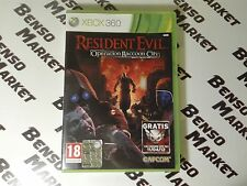 RESIDENT EVIL RACCOON CITY MICROSOFT XBOX360 PAL ITA ITALIANO COMPLETO LIKE NEW