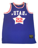 Utah Stars Customized Basketball Jersey ABA Moses Malone Los Angeles