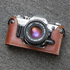 Genuine Leather Half Case for Canon AE-1 AE-1P Camera Handmade Retro Style Cover