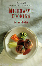 Microwave Cooking by Lorna Rhodes : Sainsbury's Recipe Library hardback 1986