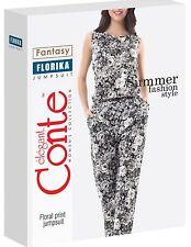 "Elegantes Business Damenoverall Damenanzug Rosenmuster ""FLORIKA"" von CONTE"