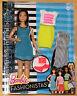 Barbie Fashionistas Glam mit Fashion Mode Freizeitlook DTF01 NEU/OVP Puppe