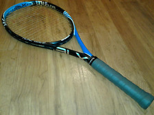 BLX Tidal Wave Wilson 105 Mid Plus Tennis Racket/Racquet 4 1/4 + NEW WRAP
