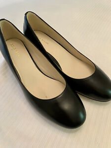 COLE HAAN: BLACK LEATHER 7.5 B MSRP: $258.00 NWT