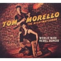 TOM MORELLO: THE NIGHTWATCHMAN - WORLD WIDE REBEL SONGS CD NEU