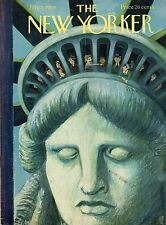 1954 New Yorker July 3-Statue of Liberty's Crown antics