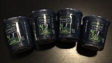 New Yankee Candle Votives: Island Waterfall Wax Melts Lot of 4. Free Shipping!