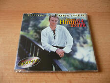 Single CD Thomas Forstner - Wenn der Himmel brennt - 1994 - 3 Songs