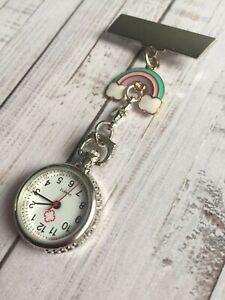 NHS Nurse Rainbow Fob Watch