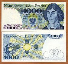 Poland, 1000 Zlotych 1982, P-146c, UNC > Kopernicus, Solar System