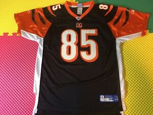 Chad Johnson Cincinnati Bengals #85 Reebok OnField NFL Jersey Boys Size XL 18-20