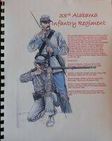Civil War History of the 33rd Alabama Infantry Regiment