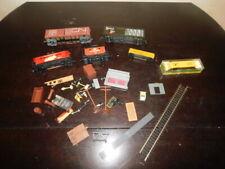 ho trains train 44 piece pieces lot antique vintage caboose poultry box car