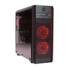 Loop StormForce Ventus ATX Tempered Glass Extreme Gaming Case, LPGA001B, Black