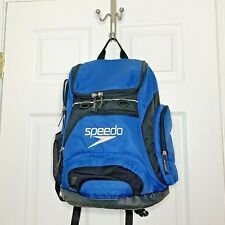Speedo Teamster Backpack 25L Royal Blue and Black