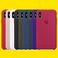 Nuevo Oficial Auténtico Funda de silicona suave para iPhone x / 8 7Plus EN CAJA
