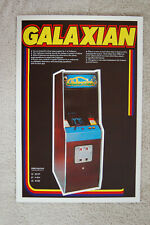 Galaxian Arcade flyer promotional poster #1