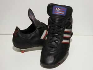 RARE VINTAGE ADIDAS BOLIVIA V FOOTBALL BOOTS, UK ADULT SIZE 10