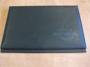 Harley Davidson owners manual leather look cover