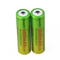 2pcs SKYWOLFEYE 5000mAh Li-ion 3.7V Rechargeable Batteries 18650 Battery JL