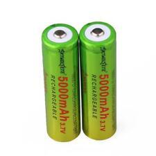 2pcs SKYWOLFEYE 5000mAh Li-ion 3.7V Rechargeable Batteries 18650 Battery UP