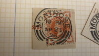 OLD SCOTLAND GB POSTAL HISTORY, SCOTTISH POSTMARK OF MONTROSE QV 1896