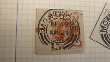 OLD SCOTLAND GB POSTAL HISTORY, SCOTTISH POSTMARK OF MONTROSE QV 1896