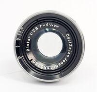 Carl Zeiss Jena Biotar 4 ¼ CM F2.8 Lens # 2257480 VERY RARE!