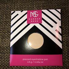 NEW Makeup Geek Single Eyeshadow - So Pale