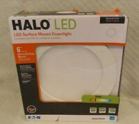 """Halo 6"""" Direct Ceiling Mount Round LED Surface Mount Downlight SMD6R6930WHDM"""