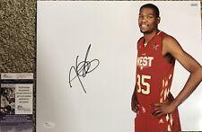 Kevin Durant OKC Thunder Finals MVP 11x14 Signed Photo JSA S76817
