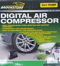 Brookstone Digital Air Compressor - 3 in 1 Pump