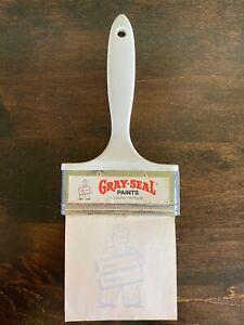 Vintage Gray-Seal Paints Advertising Notepad Figural Paintbrush Louisville KY