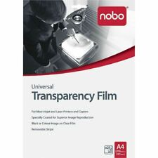 Nobo A4 OHP Universal Inkjet Laser Transparency Film UF0025