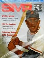 SMR Sports Market Report PSA/DNA Guide Magazine WILLIE MAYS JUNE 2017 NEW
