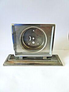 "Art Deco Clock Face Photo Picture Holder 4.25"" x 3.75"""