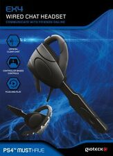 PS4 Gioteck EX-4 Wired Chat Headset kabelgebunden NEUWARE
