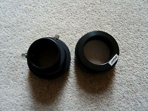 Celestron visual back, skylight filter 1.25 inch for SCR, excellent condition.