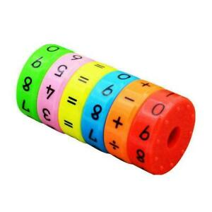6pc Magnetic Children Preschool Montessori Educational For Children Plastic Z0C5