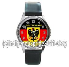 Germany/German/Germany Flag UNISEX Watch-Unisex.Great gift.Hurry.Mens & Ladies