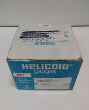 HELICOID PRESSURE GAUGE 30/30 IN HG VAC/PSI E4M1P20000000 NIB