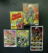 MARS ATTACKS OCCUPATION FACTORY SET + 3 SUB SETS + 3 DIFFERENT P1 PROMOS