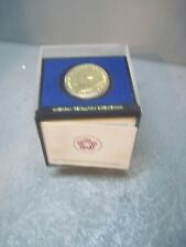 NATIONAL BICENTENNIAL1974  BRONZE MEDAL IN THE ORIGINAL CASE JOHN ADAMS