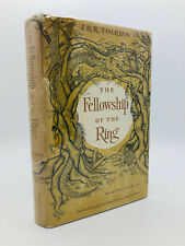 New listing The Fellowship of the Ring - J.R.R. Tolkien, First Edition, 13th Impression Hcdj