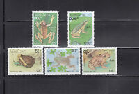 Laos 1993 Frogs Sc 1113-1117   complete  mint never hinged