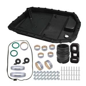 BAPMIC Transmission Oil Pan Filter + Repair Kit + Gasket for BMW E83 E87 E88 E90