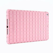 For iPad 9.7(2017)/ iPad Air Poetic GraphGrip Series  silicone Case Light Pink