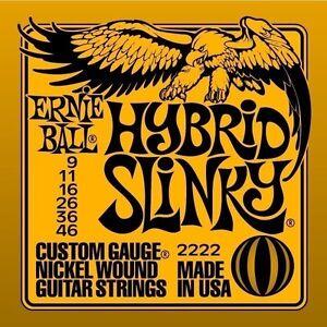 Ernie Ball Hybrid Slinky Electric Guitar Strings 9-46 2222