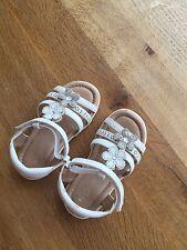 Next Girls White Sandels Size 7
