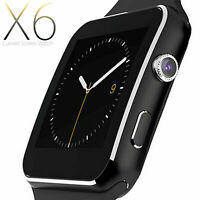 Luxus SmartWatch X6 Bluetooth Uhr Android Samsung Galaxy S7 EDGE SIM Smart Watch